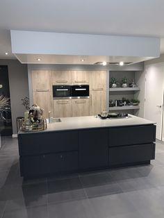 Kitchen Time, Kitchen Dinning, Ikea Kitchen, Home Decor Kitchen, Luxury Kitchen Design, Interior Design Kitchen, Handleless Kitchen, Small Room Bedroom, Small House Design