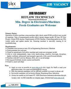 Lowongan Kerja Batam PT. SIIX Electronics Indonesia (14/12/2020) Application Letters, Batam, New Program, Good Attitude, Assertiveness, Kaizen, Teamwork, Portal, How To Apply