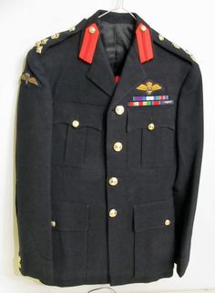 FAA Pilot and Parachute Wings; Dress Blues, Blue Dresses, Military Shoes, Military Uniforms, Pilot Uniform, Pilot Gifts, Royal Marines, Paratrooper, Indian Army