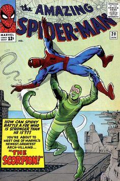 The Amazing Spider-Man 20 Lee Ditko Scorpion