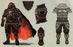 #Ganondorf Concept 3 from the official artwork set for #TLoz Twilight Princess. #Zelda http://www.zelda-temple.net/the-legend-of-zelda-twilight-princess