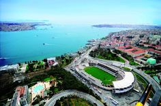 The Most beautiful stadium all over the world ! 2020 Olympics, Perfect World, Olympic Games, All Over The World, Most Beautiful, Football, River, Outdoor Decor, Istanbul Turkey