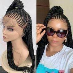 Black Girl Braided Hairstyles, Twist Braid Hairstyles, Frontal Hairstyles, Black Girl Braids, African Braids Hairstyles, Girls Braids, Wig Hairstyles, Natural Hairstyles, Haircuts