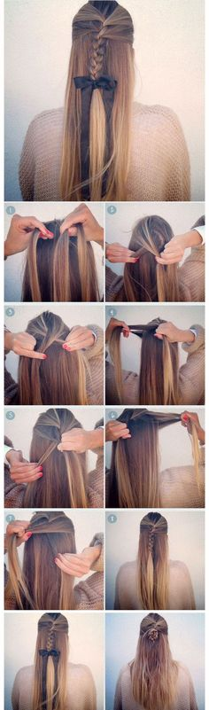 cool 5 Easy Back-to-School Hairstyles for Long Medium Hair Tutorial...