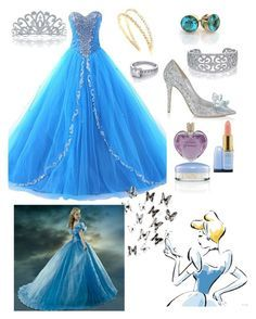 """Cinderella"" by ahbierose ❤ liked on Polyvore"