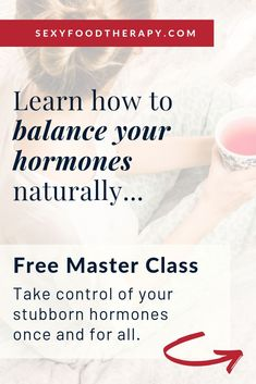 Learn How To Balance Your Hormones Naturally. In this FREE broadcast, I'll be sh… - menopause Balance Hormones Naturally, Balancing Hormones, What Is Adrenal Fatigue, Adrenal Health, Women's Health, Health Tips, Hormone Imbalance Symptoms, How To Regulate Hormones, Food Therapy