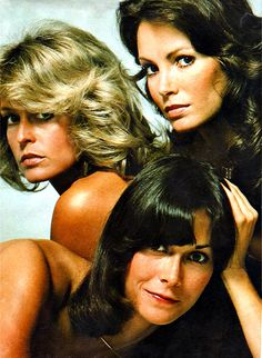 "Charlies Angels were popular back in the 70s. People wore their hair like them with the ""mane"" or ""winged"" look"