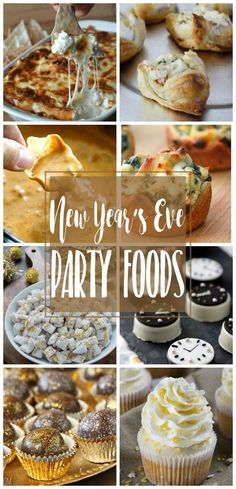 Appetizers and desserts are the perfect foods to serve at a New Year's Eve party. The parties usually get started on the late side, after a day of regular eating. People want to munch all night and appetizers and desserts are smart to serve up. Enjoy this New Years Eve Party Ideas Food, New Years Eve Snacks, New Years Eve Menu, New Year's Snacks, New Years Eve Drinks, New Years Eve Dessert, New Year's Eve Cocktails, New Year's Eve Appetizers, Snacks Für Party