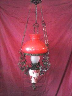Old hanging lamp in Ioannina ,Greece Vintage Love, Greece, Lamps, Bronze, Lights, Handmade, Design, Home Decor, Greece Country