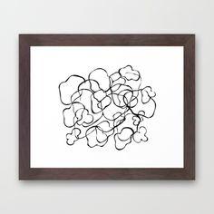b&w pattern Framed Art Print Framed Art Prints, Artist, Pattern, Design, Home Decor, Homemade Home Decor, Artists, Model, Design Comics