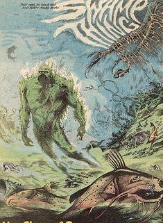 alan moore swamp thing :  underwater
