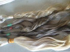 Grey White Hair bundles, Natural Unprocessed - Uncolored. EasternHAIR.com