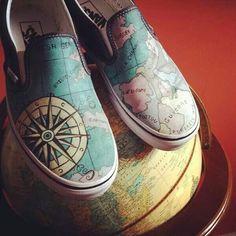 Vans world map