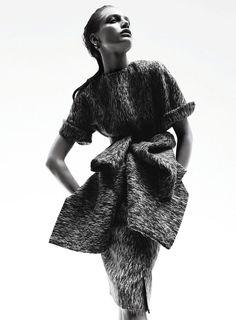 Svetlana Zakharova for Elle US August 2014 by Jan Welters (Lighting & Pose)