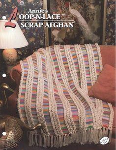 Annie's Loop-N-Lace Scrap Afghan Annie's by KnitKnacksCreations