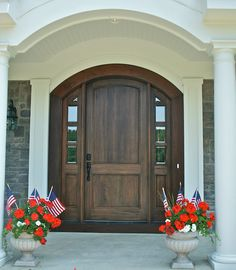 Front doors - those rounded tops I adore