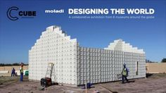 """Image 1 of 19 from gallery of How the """"Moladi"""" System is Making Affordable Housing More Accessible in South Africa. Courtesy of Moladi Design Museum London, Archdaily Mexico, Low Cost Housing, Cube Design, Unusual Homes, Building Systems, Smart City, Global Design, Affordable Housing"""