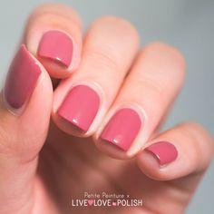 Live Love Polish China Glaze Life is Rosy Petite Peinture Swatch available at www.livelovepolish.com #nails #nailpolish