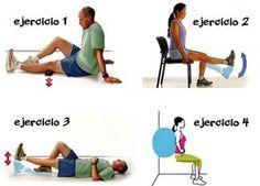 Diferentes ejercicios para fortalecer las rodillas - Mejor Con Salud