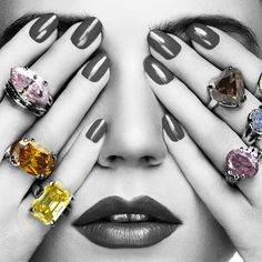 Learn More About Colored Diamonds - From Expert Judith Rosby Engagement Ring Guide, Colored Diamonds, Fancy, Nails, Beauty, Finger Nails, Ongles, Nail, Sns Nails