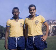 Pele and Vava, 1962
