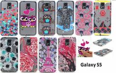 Ultra Thin soft TPU Crystal Transparent Relief For Samsung S5 Case Back Cover Colourful Colored Drawing