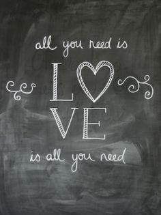 Max & Me: Valentine's Day Chalkboard