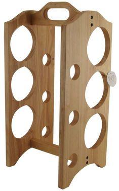wood-wine-rack-wine-storage-racks-6-bottles-650.jpg (650×1041) #WoodworkingPlansWineRack