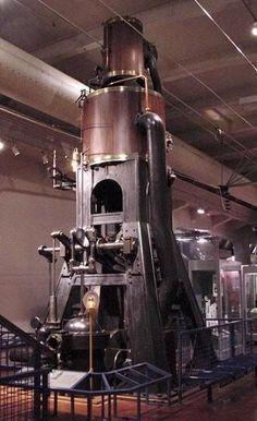 An 1875 Marine Steam Engine.