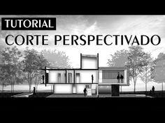 Tutorial - Corte Perspectivado - Sketchup + Photoshop   Marina Araújo