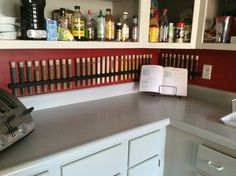 Test Tube Spice Rack Stained Wood by AdamsElementalDesign on Etsy