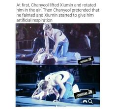 Xiuyeol is sailing yo chanyeol xiumin Kpop Exo, Exo Chanyeol, Exo K, Kyungsoo, Exo Ot12, Baekyeol, Chanbaek, Exo Facts, Xiuchen