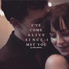 I love Christian Grey Jamie Dornan and Dakota Johnson Fifty shades of grey movie
