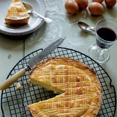 C'est Bien! Try This Recipe for Traditional French Gâteau Basque  #InStyle