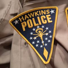 F 125 Stranger Things Hawkins Police Embroidered Patch TV Show Novelty