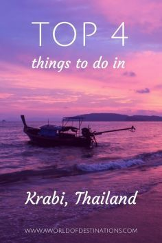 Krabi is located on the East Coast of Thailand and it's a popular holiday destination. That's why it can get pretty crowded there, especially on the beaches. But Krabi is much more than just beaches, hotel resorts and souvenir shops. Thailand Adventure, Thailand Travel Tips, Adventure Travel, Vietnam Travel, Asia Travel, Popular Holiday Destinations, Krabi Thailand, Backpacking Asia, Beach Trip