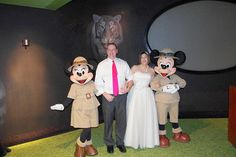 Safari Mickey and Minnie - Animal Kingdom – Conservation Station | Magical Day Weddings | A Wedding Atlas Fan Site for Disney Weddings
