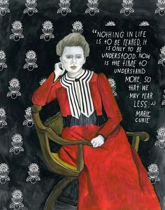 by lisa congdon // words, marie curie Marie Curie, Rock Science, Science Quotes, We Are The World, Women In History, Ancient History, Strong Women, Inspire Me, Wise Words