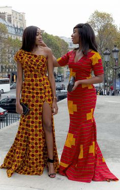 Wax mania: focus on our african outfits done in wax fabric African Fashion Ankara, African Print Fashion, Africa Fashion, African Prints, Short African Dresses, Ankara Long Gown Styles, African Lace, Ankara Styles, African Wedding Attire