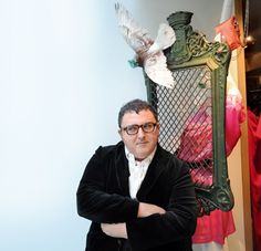 Lanvin's creative director Alber Elbaz.