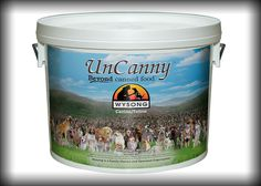 """UnCanny is a nutritious blend of numerous ingredients designed to augment, balance, and increase the palatability of a raw meat diet.  Mix with Wysong Archetype* raw diets to create the complete """"UnCanny"""" – a canned food formulation without the can and without the raw-destroying heat processing – or mix with your own home prepared raw meats."""