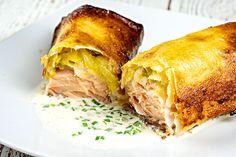 Brick de saumon et poireaux au Thermomix - Cookomix
