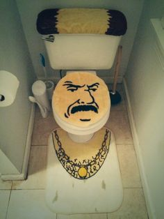 Carl From Aqua Teen Hunger Force is Now Your Toilet