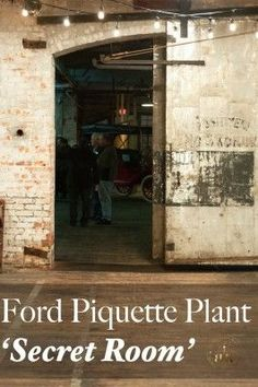 """The mystery behind """"The Secret Room"""" in the Ford Piquette Plant. Detroit, Michigan 