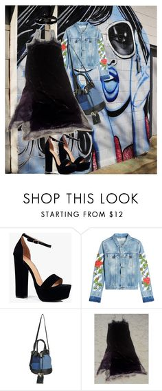 """""""Street Style Girls"""" by oanaf ❤ liked on Polyvore featuring Boohoo, Off-White, See by Chloé and Aamaya by Priyanka"""