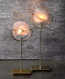 Love these very trendy Agate lights