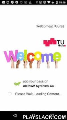 Welcome@TUGraz  Android App - playslack.com ,  This app helps international staff, students and guests of Graz University of Technology (TU Graz) to have a good start here in Austria. It provides useful information before/upon their arrival as well as during their stay in Graz given by the Welcome Center of TU Graz:(.) The app includes all important addresses internationals need to know (e.g. Local Styrian Government, Personnel Department, Registration Office, student union). (.) It provides…