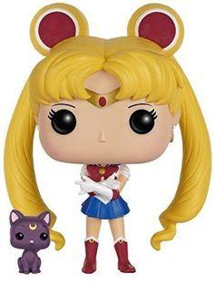 Sailor Moon & Luna Funko Pop