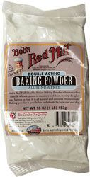 Bob's Red Mill Double Acting Baking Powder Aluminum Free 16 oz Pkg - Swanson Health Products