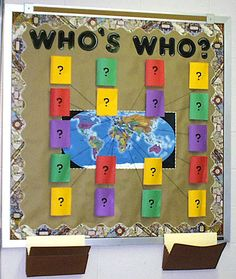 I am thinking I will start my bulletin board with this. Each flap is a famous mathematician and it is the students job to help me discover what each one did. Weekly bell ringer using books stored in my classroom??!